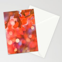 Sparkles in Autumn Stationery Cards