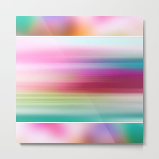 The Sound of Light and Color | PASTEL TRIPLET Metal Print