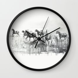 Equine Life 2 Wall Clock