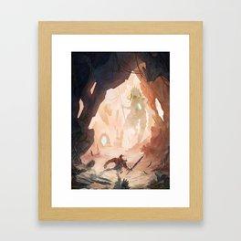 Beyond: Soldier Framed Art Print