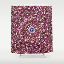 Floral Core Shower Curtain