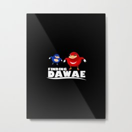 da way Metal Print