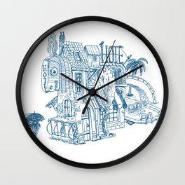 Freak Hotel Wall Clock
