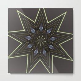 Nine Pointed Star Metal Print