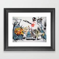 y-------y Framed Art Print