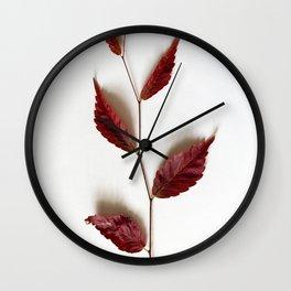 Twig of Autumn Wall Clock