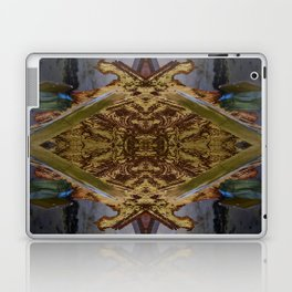 Green/Gold Ceiling Tile (Abstract) Laptop & iPad Skin