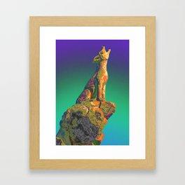 Coyote Call Framed Art Print