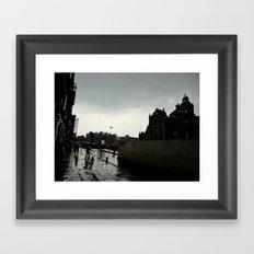 Zócalo Framed Art Print