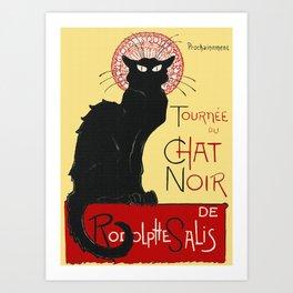Tournee Du Chat Noir - 1896 Poster Art Print