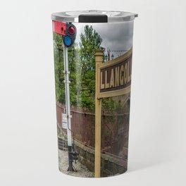 Llangollen Railway Station Travel Mug
