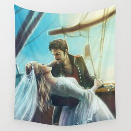 Wouldn't It Be Romantic Wall Tapestry