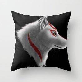 Amaterasu - Okami Throw Pillow