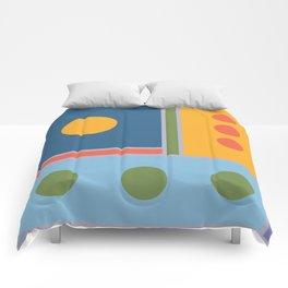 Millennium Blocks Comforters