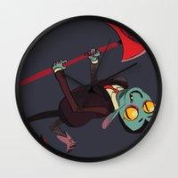 musa Wall Clocks featuring stomp stomp stomp soul soul soul by musa