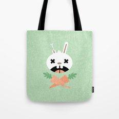 Bunny Death Tote Bag