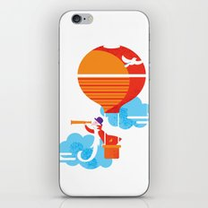 Scientist traveler iPhone & iPod Skin