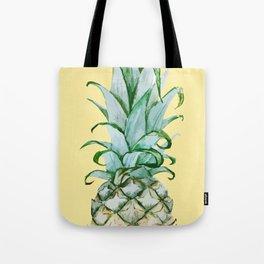 Yellow Pineapple , Tropical Fruit , Hawaiian Tote Bag