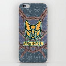 Autocats V2 iPhone & iPod Skin