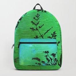 Wildflower Print Backpack