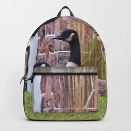 Canadian Geese at Rest Backpack