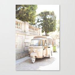 Parisian Tuktuk Canvas Print