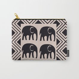 African Tribal Pattern No. 4 Carry-All Pouch