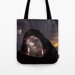 Delicate Nights Tote Bag