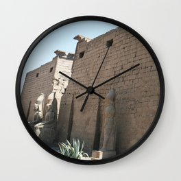 Temple of Luxor, no. 26 Wall Clock