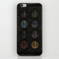 skyrim iPhone & iPod Skins featuring Shield's of Skyrim by VineDesign