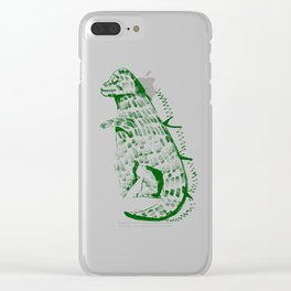godzilla Clear iPhone Case