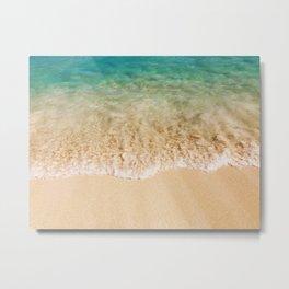 Surf & Sand Metal Print