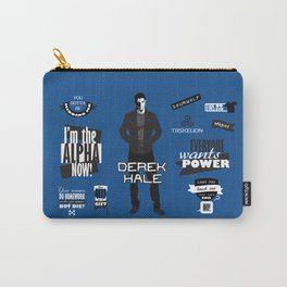 Derek Hale Quotes Teen Wolf Carry-All Pouch