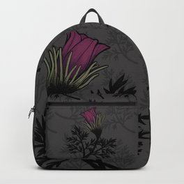 Pasque Flower Backpack