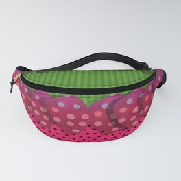 """Strawberries Paper"" Fanny Pack"