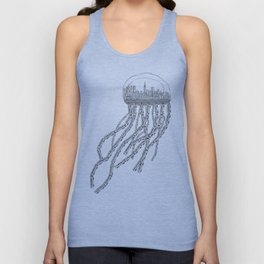 NY Sea Unisex Tank Top