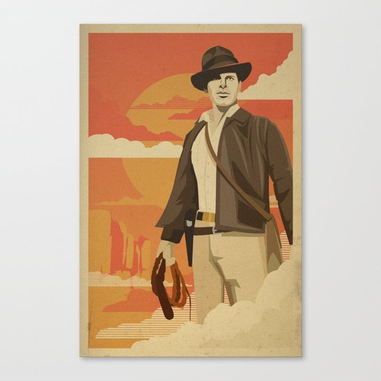 The Archeologist Canvas Print