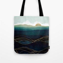 Indigo Waters Tote Bag