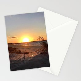 Off-Season Sunsets Stationery Cards