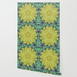 Clock Mandala Wallpaper