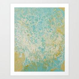 Pastel Mermaid Art Print