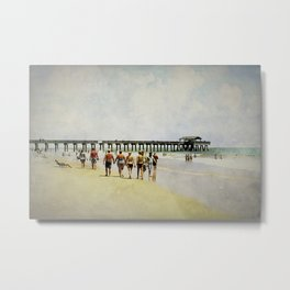 All I've got's this sunny afternoon. Metal Print