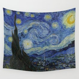 The Starry Night Wandbehang
