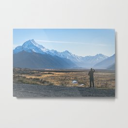 Quite the view Metal Print
