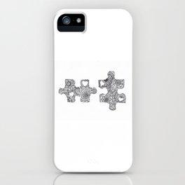 Puzzle Pieces iPhone Case