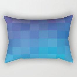Pixel Serenity Rectangular Pillow