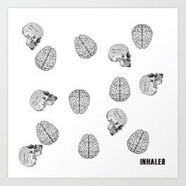 my poor brain- ffs  Art Print