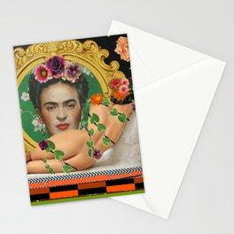 Contemplating Frida Stationery Cards