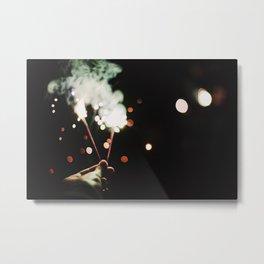 Sparks II Metal Print