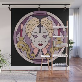 Carmilla - Sheridan Le Fanu - Stained Glass Wall Mural